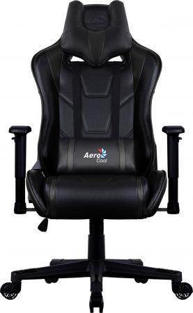Кресло компьютерное игровое Aerocool AC220 AIR-B черное с перфорацией 4713105968378 компьютерное кресло aerocool ac80c bw