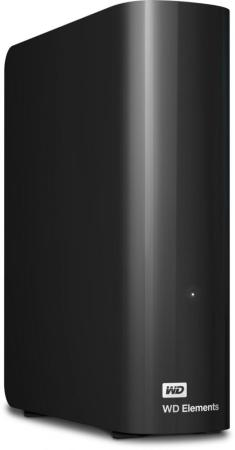 Внешний жесткий диск 3.5 USB3.0 6Tb Western Digital Elements Desktop WDBWLG0060HBK-EESN черный