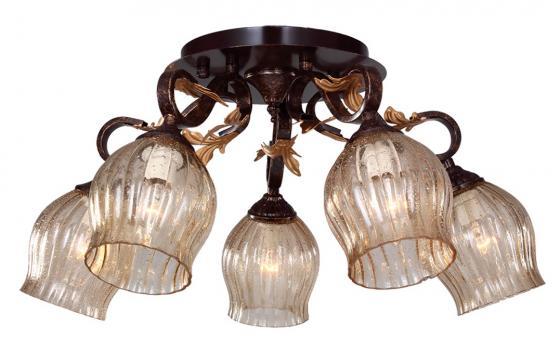 Потолочная люстра IDLamp Brauni 474/5PF-Blackpatina потолочная люстра idlamp 554 3pf blackpatina
