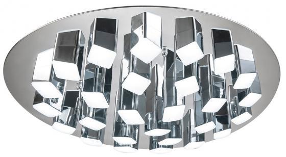Потолочная светодиодная люстра с пультом ДУ IDLamp Colosseo 306/27PF-LEDChrome colosseo 81609 1w raffaela