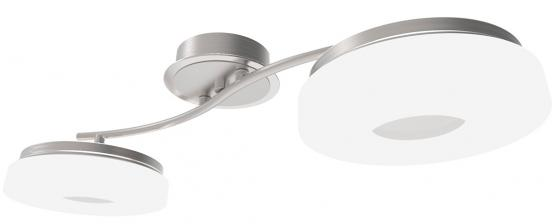 Потолочная светодиодная люстра с пультом ДУ IDLamp Frittelle 107/2A-LEDWhitechrome