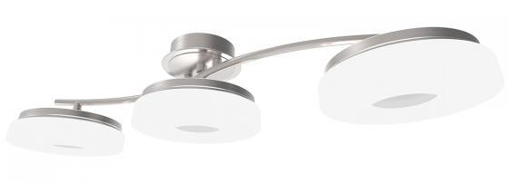Потолочная светодиодная люстра с пультом ДУ IDLamp Frittelle 107/3A-LEDWhitechrome idlamp спот idlamp bianca 390 3a ledwhitechrome
