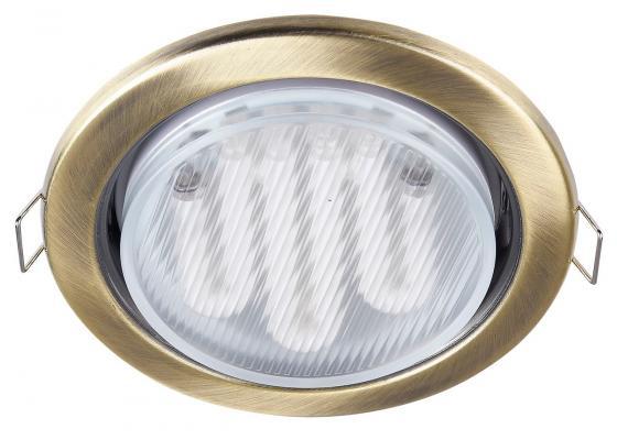 Встраиваемый светильник Maytoni Metal DL293-01-BZ встраиваемый светильник maytoni dl293 01 g