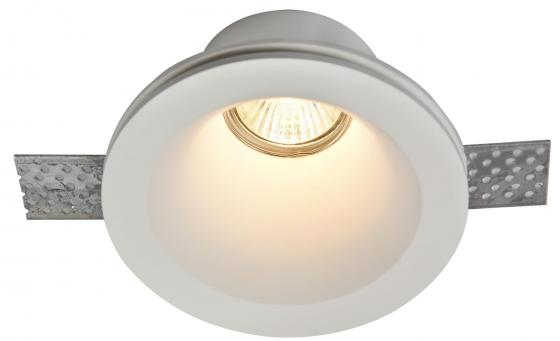 Встраиваемый светильник Maytoni Gyps DL002-1-01-W подвесной светильник preciosa brilliant 45 0938 002 15 00 01 01