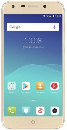 Смартфон ZTE Blade A6 золотистый 5.2 32 Гб LTE Wi-Fi GPS 3G Blade A6 gold смартфон zte blade a6 черный bladea6black