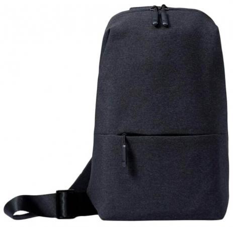 Рюкзак для ноутбука Универсальная Xiaomi Mi City Sling Bag полиэстер серый рюкзак xiaomi mi city backpack 15 полиэстер и нейлон светло серый [zjb4066gl]