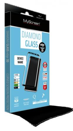 Защитное стекло Lamel MyScreen 3D DIAMOND Glass EA Kit Black для Samsung Galaxy Note 8