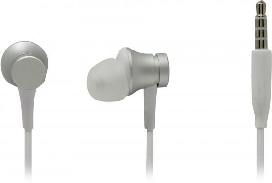 Гарнитура Xiaomi Mi In-Ear Headphones Basic серебристый mi in ear headphones basic black
