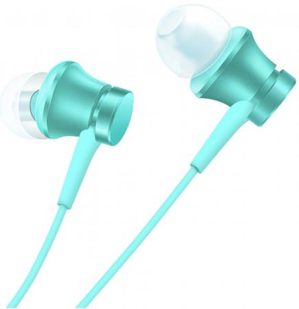 Наушники Xiaomi Mi In-Ear Headphones Basic синий наушники xiaomi mi piston headphones basic violet