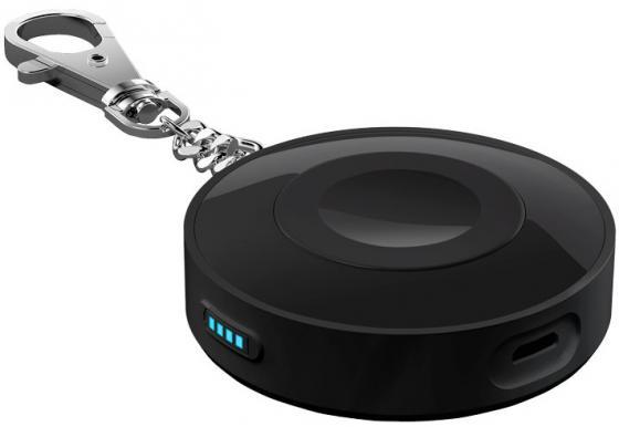 Внешний аккумулятор Deppa NRG Watch 38mm черный 33517 2600mah power bank usb блок батарей 2 0 порты usb литий полимерный аккумулятор внешний аккумулятор для смартфонов светло зеленый