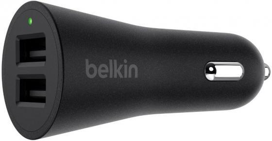 Автомобильное зарядное устройство Belkin F8J221bt04-BLK 4.8 А черный зарядное устройство belkin boost up universal car charger lightning f8j154bt04 blk black