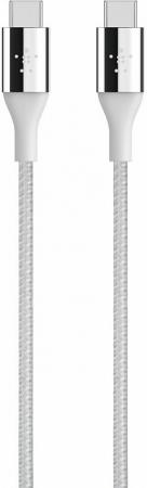 Кабель Type-C 1.2м Belkin F2CU050bt04-SLV круглый серебристый стоимость