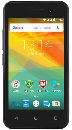 Смартфон Prestigio Wize R3 черный 4 4 Гб Wi-Fi GPS 3G PSP3423DUOBLACK чехол для gps навигаторов 4 3 черный