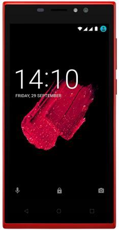 Смартфон Prestigio Muze C5 красный 5 8 Гб Wi-Fi GPS 3G смартфон micromax q334 canvas magnus зеленый 5 4 гб wi fi gps 3g