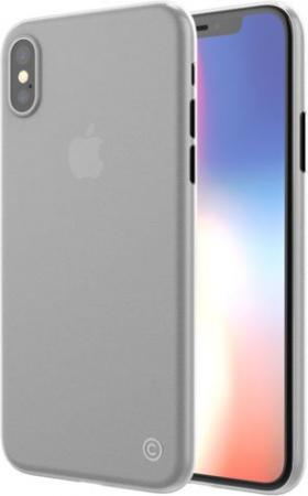 Накладка LAB.C 0.4 для iPhone X прозрачный матовый LABC-198-CR