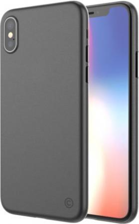 Накладка LAB.C 0.4 для iPhone X прозрачный чёрный LABC-198-BK