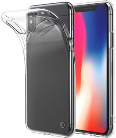 Накладка LAB.C Slim Soft для iPhone X прозрачный LABC-197-CR