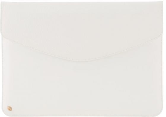 "Чехол для ноутбука MacBook Air 13"" Incase INMB100113-WHT кожа белый цена и фото"