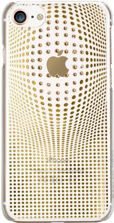 Накладка Bling My Thing Warp Deluxe для iPhone 8 золотой ip8-wd-cl-gld