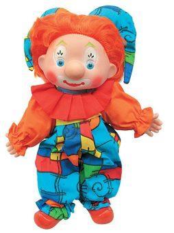 Кукла Shantou Gepai Скоморошка 40 см мягкая 06139
