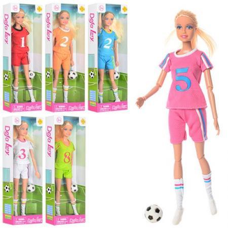 Кукла Defa Lucy Спортивное лето, шарнирная, в ассорт., кор. кукла принцесса с сумкой defa lucy в ассорт