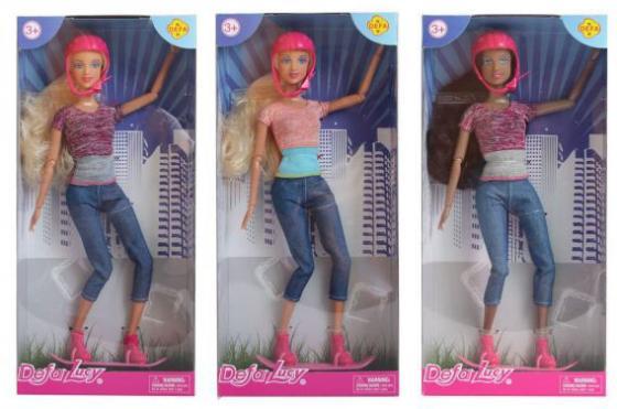 Кукла Defa Lucy На роликах, шарнирная, в ассорт., кор. кукла defa lucy модная white light blue 8316bl
