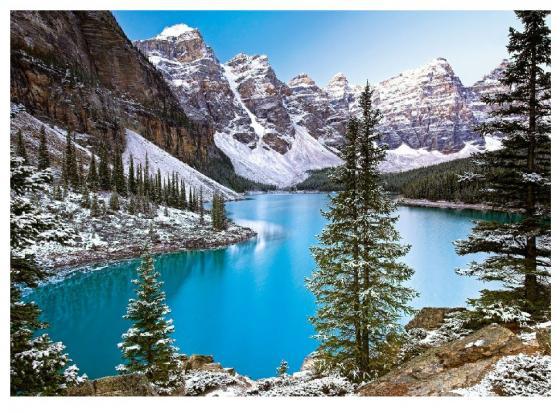 Пазл 1000 элементов Кастор Озеро, Канада пазл кастор озеро канада 1000 элементов