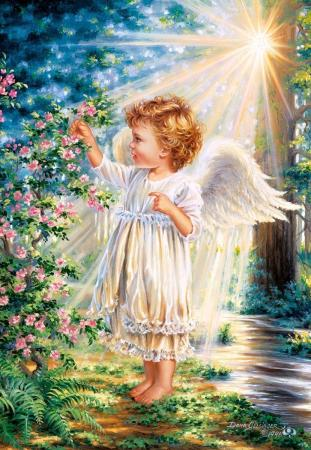 Пазл 1000 элементов Кастор Прикосновение ангела пазл кастор озеро канада 1000 элементов