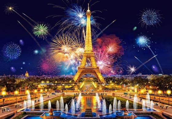 Пазл 1000 элементов Кастор Очарование ночи Париж пазл кастор фэнтэзи 1 1000 элементов