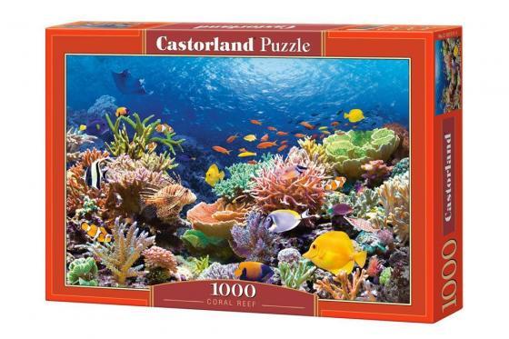 Пазл 1000 элементов Кастор Коралловый риф пазл кастор озеро канада 1000 элементов