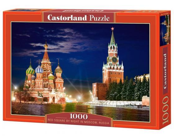 Пазл 1000 элементов Кастор Красная площадь, Москва пазл кастор озеро канада 1000 элементов