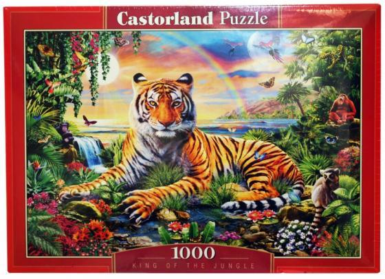 Пазл 1000 элементов Кастор Король джунглей пазл кастор озеро канада 1000 элементов