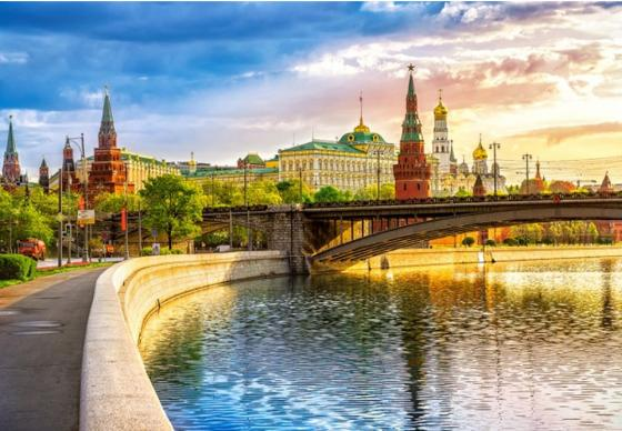 Пазл 1000 элементов Кастор Набережная, Москва пазл кастор озеро канада 1000 элементов