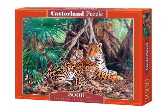 Пазл 3000 элементов Кастор Ягуары в джунглях пазл 60 элементов кастор три поросенка в 06106