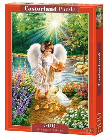 Пазл 500 элементов Кастор Ангельская забота пазл 500 элементов кастор ангел в саду
