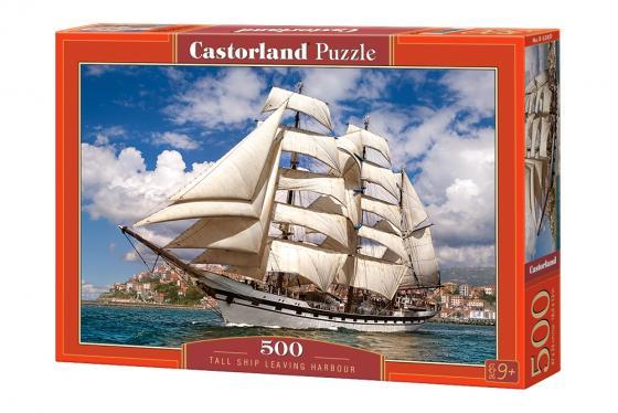 Пазл 500 элементов Кастор Корабль в гавани пазл 500 элементов кастор ангел в саду