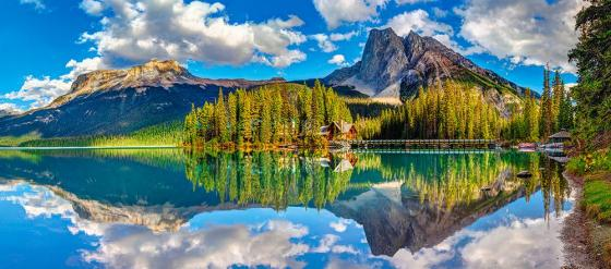 Пазл 600 элементов Кастор Изумрудное озеро В-060092 пазл кастор озеро канада 1000 элементов