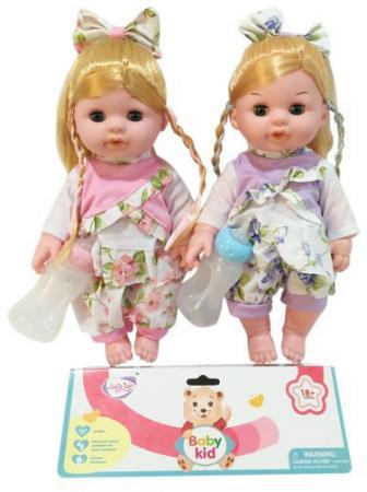 Кукла Мариночка 35 см, пьет, писает, озвуч., бутылочка в компл., в ассорт., пакет кукла весна 35 см