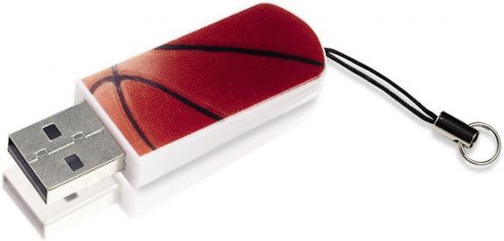 Флешка USB 8Gb Verbatim Mini Sport Edition 98507 USB2.0 баскетбол флеш накопитель verbatim 8gb mini graffiti edition usb 2 0 красный 98165