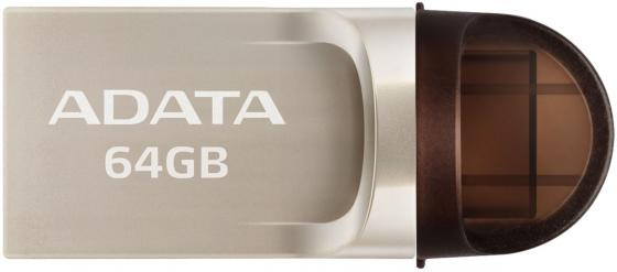 Флешка USB 64Gb A-Data UC370 USB3.1/Type-C AUC370-64G-RGD золотистый reliable convenient usb 3 0 type a female to female plug adapter extension connector coupler