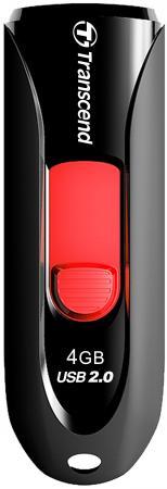 Флешка USB 4Gb Transcend Jetflash 590 TS4GJF590K флешка transcend jetflash v85 16gb
