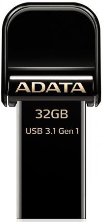 Флешка USB 32Gb A-Data AI920 AAI920-32G-CBK черный