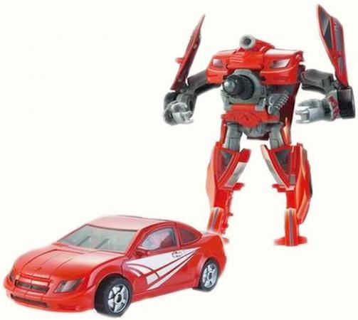 Трансформер Город Игр Робот - Спорткар L D484901 город игр робот трансформер hot wings машинка жук
