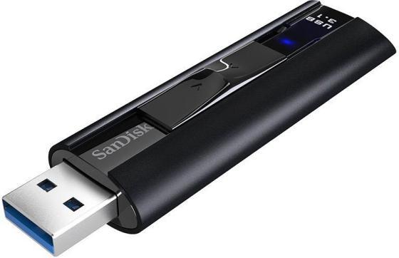 Фото - Флешка USB 256Gb Sandisk CZ880 Cruzer Extreme Pro SDCZ880-256G-G46 черный флешка usb type c sandisk sdcz460 256g g46 256гб usb3 1 черный