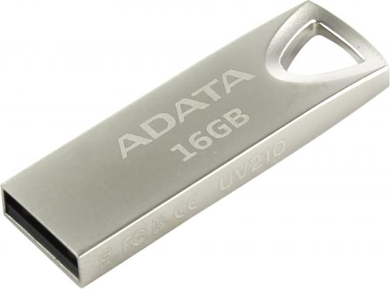 Флешка USB 16Gb A-Data UV210 USB2.0 AUV210-16G-RGD серебристый