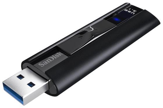 Флешка USB 128Gb SanDisk CZ880 Cruzer Extreme Pro SDCZ880-128G-G46 черный usb флешка sandisk extreme 128gb usb3 1 sdcz800 128g g46