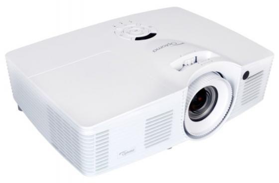 Проектор Optoma DH401 1920х1080 4000 люмен 15000:1 белый