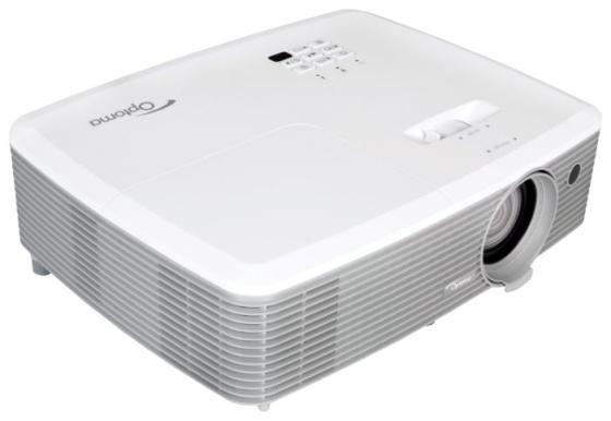 Проектор Optoma EH400 1920х1080 4000 люмен 22000:1 белый 95.78E01GC0E цена и фото