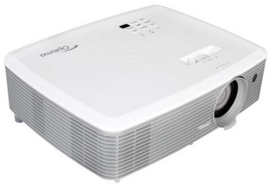 Проектор Optoma X400+ 1024x768 4000 люмен 22000:1 белый 95.78K01GC0E проектор optoma ml330 1280x800 500 люмен 20000 1 золотистый e1p2v004e021