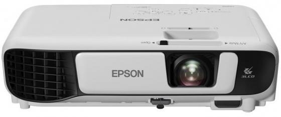 Проектор Epson EB-W41 1280x800 3600 люмен 15000:1 белый V11H844040